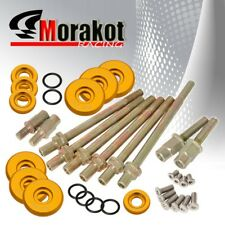 JDM Sport Engine K20 K24 Low Profile Valve Cover Cap Washer Screw Bolts Kit Gold