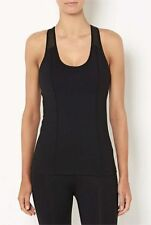 Witchery Black Nio Core Tank Top Size M Sleeveless Active Wear Gym Casual Womens