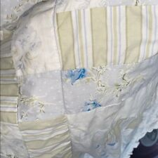 Simply Shabby Chic British blue rose quilt King