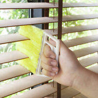 Venetian Window Blind Cleaner Microfibre 7 Brush Pronged Washable Duster Wet/Dry