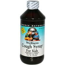 Source Naturals, Wellness Cough Syrup For Kids, Great Cherry Taste (236 ml)