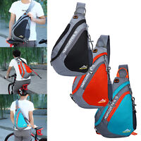 Men Unisex Outdoor Hiking Sling CrossBody Chest Bags Shoulder Messenger Backpack