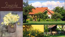 Ferienwohnung Spreewald 2 Pers. großer Garten, Kahn, Boot,