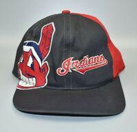 Cleveland Indians Vintage 90's Twins Enterprise Big Logo Snapback Cap Hat - NWT