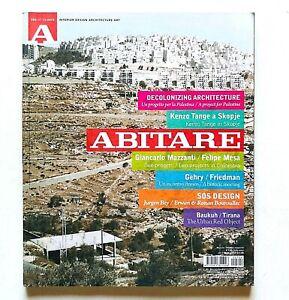 Abitare 504 2010 Rivista Architettura Design Decolonizing Architecture Palestina