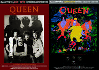 QUEEN / THE WORKS, A KIND OF MAGIC Expanded Collector's Ed. 2titleset [4CD&2DVD]