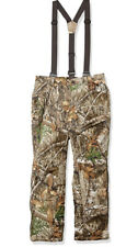 Under Armour Storm Realtree Edge Camo Hunting Overall Pants 1316736-991 Sz L