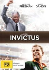 Invictus DVD - Region ( 4 )patrick Mofokeng Tony Kgoroge Matt Damon Morgan