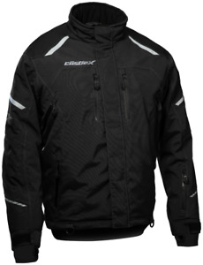 Castle X Mens Polar Jacket Black snowmobile jackets Sizes M-5XL