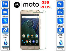2x Genuine 100% TEMPERED GLASS HD Screen Protector Cover For Moto G5S Plus