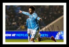 DAVID VILLA - NEW YORK CITY AUTOGRAPHED SIGNED & FRAMED PP POSTER PHOTO