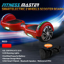 Smart Self Balancing Hoverboard Electric 2 Wheel Scooter Hover Board Red