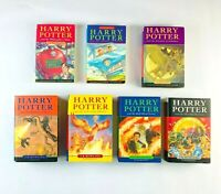 Harry Potter Books Complete Original Set JK Rowling 4x First Edition 5x HC 2x PB
