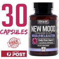 ONNIT New Mood 30 caps 5-HTP Natural L-Tryptophan JRE Rogan Alpha Brain