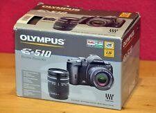 Olympus E-510 Double Kit  mit 2 Objektiven nahezu neuwertig nur 876 Auslösungen