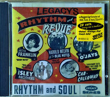 LEGACY'S - RHYTHM AND BLUES REVUE - VARIOUS ARTISTS - 20 TRACKS - 1995 CD