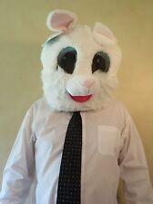NWT Maskimals RABBIT Head Furry Mask Halloween Costume NEW Bunny Maskimal Easter