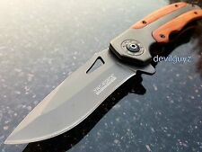 "8.25"" TAC FORCE SPRING ASSISTED FOLDING KNIFE Blade pocket open assist Switch"