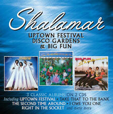 Shalamar : Uptown Festival/Disco Gardens/Big Fun CD (2018) ***NEW***