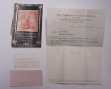 1901 Lamson Goodnow Cornelius Callahan Co Fire Department Book MA Ephemera L770J