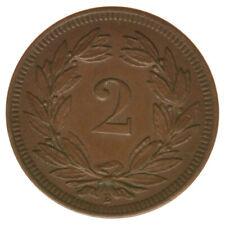 Schweiz 2 Rappen 1893 A47565