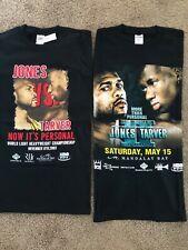 2 Vintage Boxing Shirts Roy Jones vs Antonio Tarver 1 & 2 Never Worn