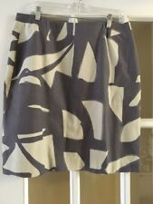 LaVia 18 Grey and Cream Skirt Waist 36
