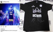 Kendall Grove Signed Bellator 162 Fight Worn Used Shirt BAS COA UFC Autograph