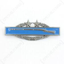 Combat Infantryman 3rd Award - Repro US American Badge Uniform Insignia Rifles