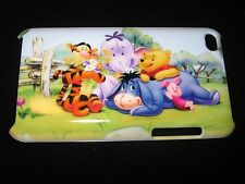 Pooh & Friends Hard Case for iPod Touch 4th Gen Piglet Tigger Eeyore Heffalump