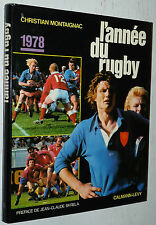 L'ANNEE DU RUGBY 1978 N°6 C. MONTAIGNAC XV WALES AS BEZIERS AS MONTFERRAND