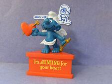 SMURF A GRAM -- Base Stand -- Valentine Cupid