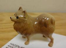 ➸ HAGEN RENAKER Dog Miniature Figurine Pomeranian Pom Pom