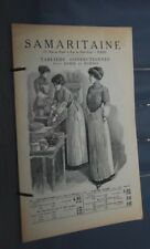 NB CATALOGUE THE SAMARITAN APRONS FOR LADIES AND MEN 1913