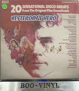 "YESTERDAYS HERO 12"" VINYL RECORD FILM SOUNDTRACK 1979 DISCO GREATS EX / VG+"