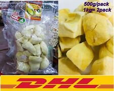 1kg Durian MonthongFreeze Dried 100% Natural Thailand Fruit Halal Healthy Snack