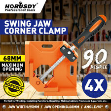 90° Right Angle Corner Clamp Die Cast Metal Welding Woodworking Vice Holder Tool