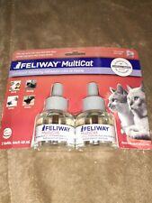 Feliway MultiCat Diffuser Refill, 48-ml refill 2 Pack - Upc: 850002593044