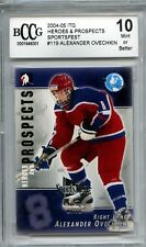 ALEXANDER OVECHKIN Capitals 2004 ITG #118 Chicago # 4 / 10  rookie BCCG 10 MINT