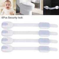 6x bébé armoire de sécurité serrures de porte d'épreuvage réfrigérateur enfant