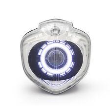 KT LED Angel Halo Eyes Projector Headlight Assembly for Yamaha FZ6N 2004-2009