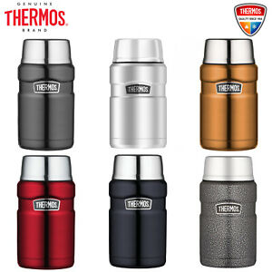 New THERMOS Stainless Steel Vacuum Insulated Food Jar Container 710ml BPA Free