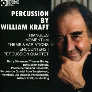Percussion by William Craft CD Crystal Records NEW sealed 1993 out of press