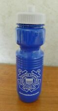 United States Coast Guard Pull Top 16oz Plastic Sport Water Bottle Blue White