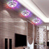 3W/5W Crystal LED Ceiling Light Home Chandelier Pendant Lamp Lighting Fixture