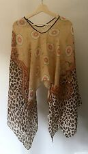 NEW Women Summer Kaftan Caftan Ladies Chiffon Free Size Light and Soft