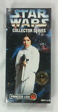 "Star Wars Collector Series Princess Leia 12"" inch figure doll Carrie Fisher 1996"