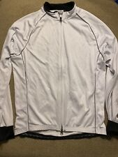 Mens Danny Shane Black White Long Sleeve Cycling Jersey Large L