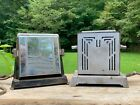 Lot+of+two+vintage+antique+toaster+chrome+electric+-+kitchen+decor
