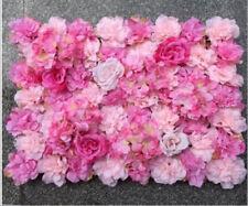 10x ARTIFICIAL FLOWER ROSEHYDRANGEA WALL PANEL WEDDING BACKGROUND BACKDROP